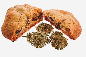 Cannabis cookie