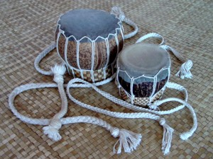 Drums Made of Coconut