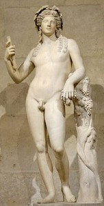 Dionysus with Wine Grapes