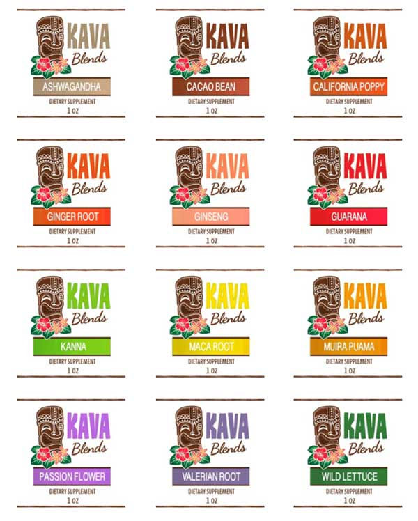 Happy Kava Blends