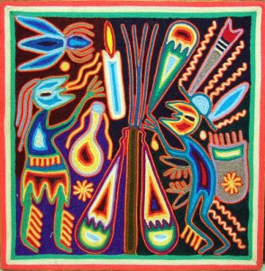 Huichol Peyote Art